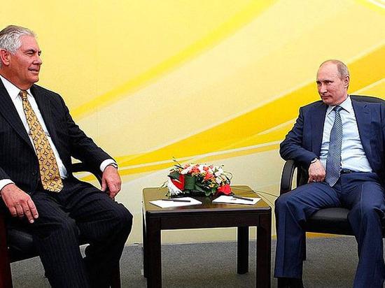 Тиллерсон: Украина будет оставаться преградой вотношениях между США иРФ