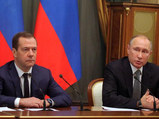 Медведев вследующем году заработал 8,58 млн руб.