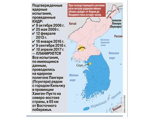 Возможный обмен ударами США и КНДР вызвал всемирную тревогу