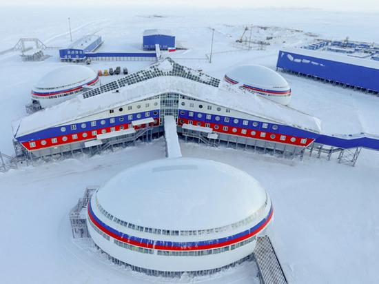 Минобороны показало уникальную военную базу «Арктический трилистник»