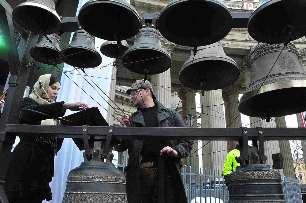 У Казанского собора прошел гала-концерт в рамках фестиваля «Пасхальный Петербург»