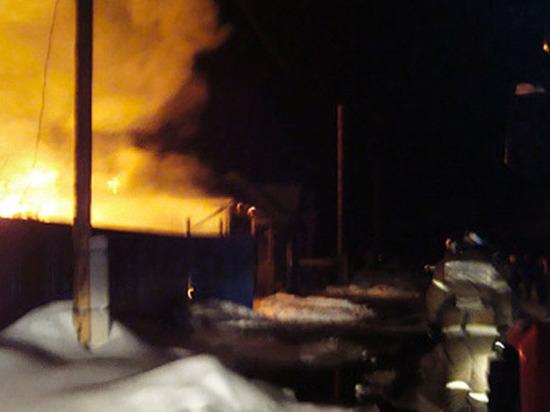 Под Томском сгорел старейший деревянный костёл в Российской Федерации