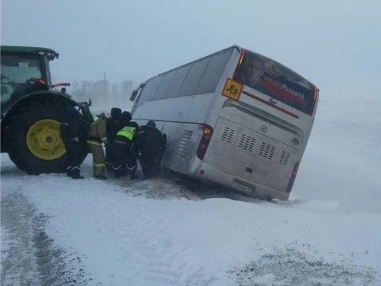 Обильный снегопад, который обрушился на Тамбовскую область, оставил свои последствия