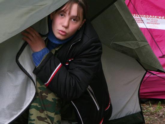 Отдыхать в палатках разрешат только детям с 10 лет