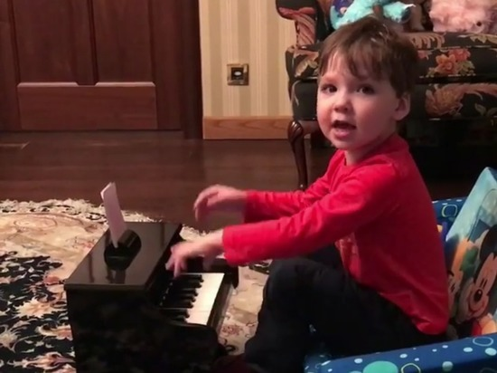 В Cеть попало умилительное видео выступления трехлетнего сына Пугачевой