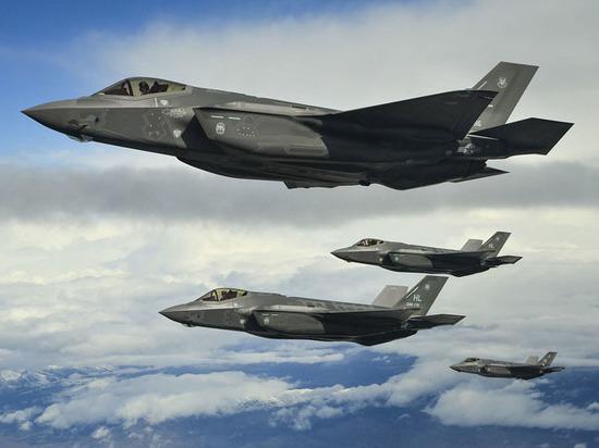 США перебросят истребители F-35A кграницам России