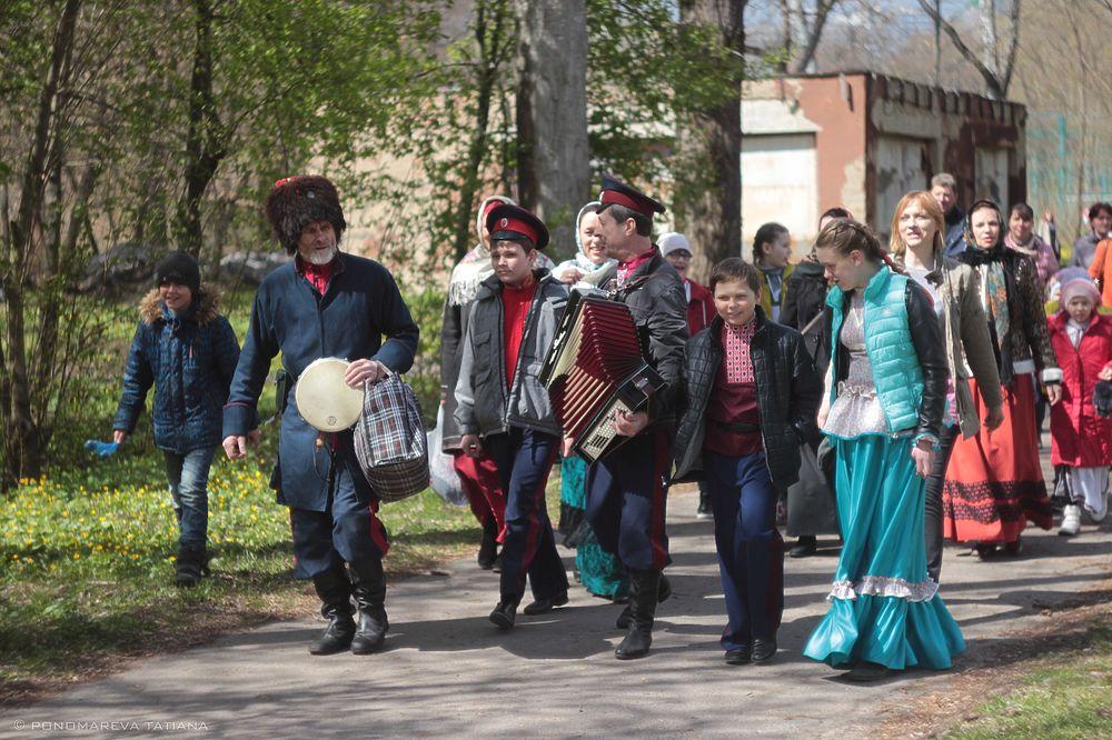 В Курске состоялся праздник  «На Красную горку»