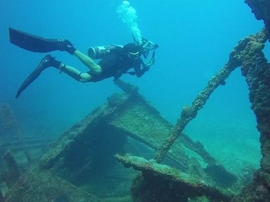 В Крыму найден легендарный пароход с награбленными сокровищами Третьего рейха