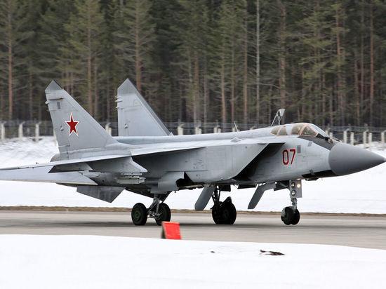 В Бурятии разбился истребитель МиГ-31