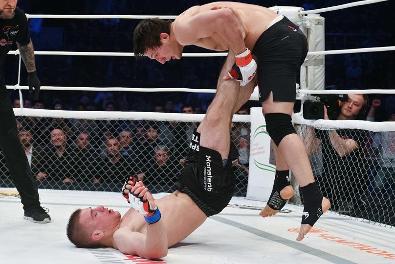 M-1 Challenge 76: как Евлоев нокаутировал Невзорова и стал временным чемпионом
