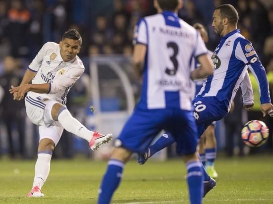 «Реал» без лидеров разгромил «Депортиво» со счетом 6:2