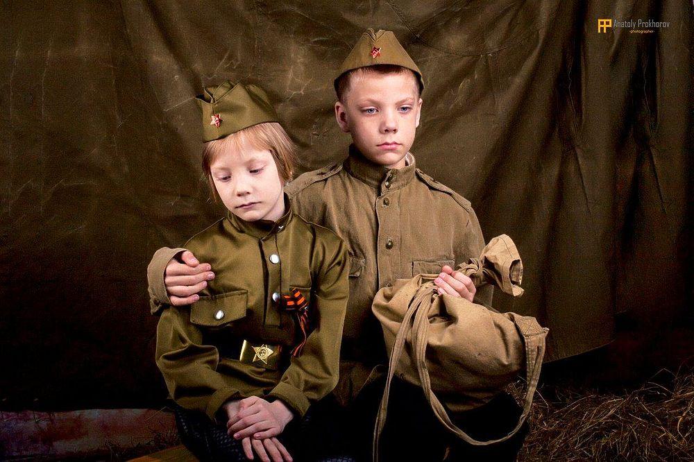 """Необычный способ рассказать малышам о том, какими были их предки - участники Великой Отечественной войны- нашли в петрозаводском ТРЦ """"Тетрис"""""""
