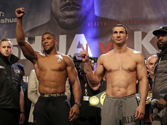 Кличко - Джошуа: онлайн-трансляция чемпионского боя по боксу