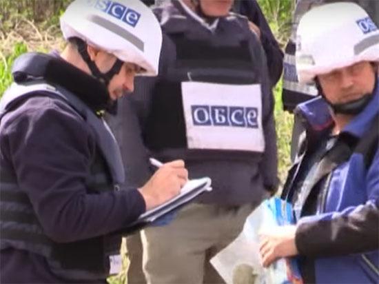 Миссию ОБСЕ в ЛНР едва не накрыло взрывом