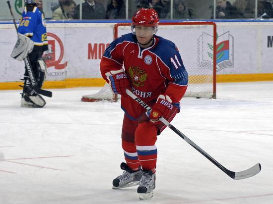 Путин сыграл в хоккей с почетным членом МОК