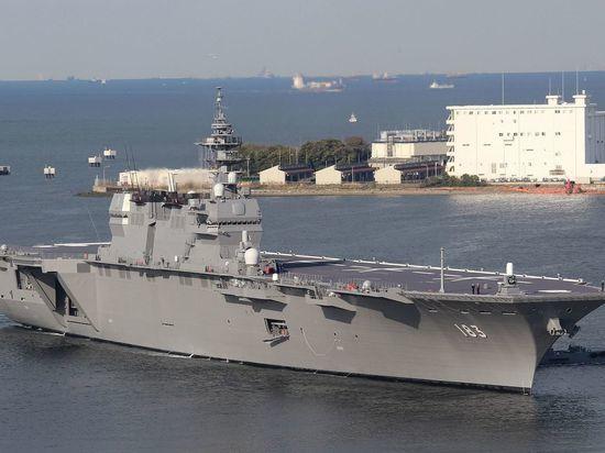 Япония отправила свой крупнейший военный корабль защищать флот США
