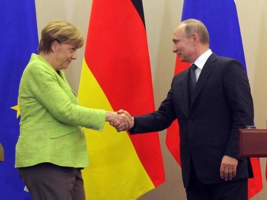 Меркель нарушила бойкот, приехав к Путину на переговоры в Сочи