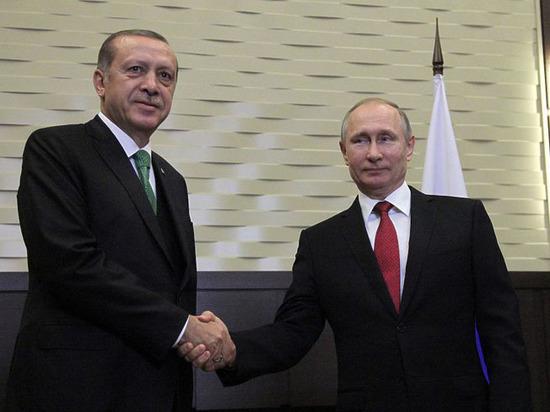 Путин объявил о договоренности с Эрдоганом по снятию торговых ограничений