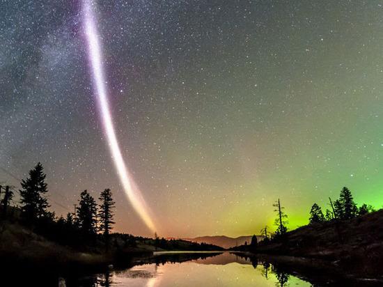 Ученые обнаружили неизвестное науке природное явление— фиолетовую дугу