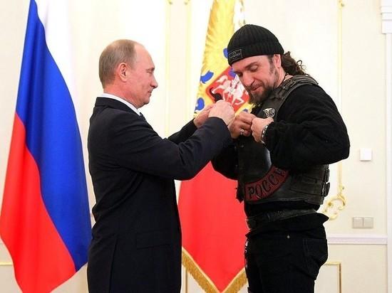 Путин персонально и досрочно поздравил байкера Хирурга с Днем Победы