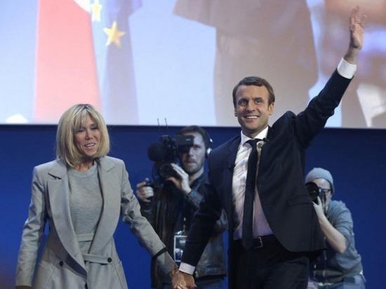 Победа молодого Макрона: какой будет «первая мадам» Франции Брижит Троньё