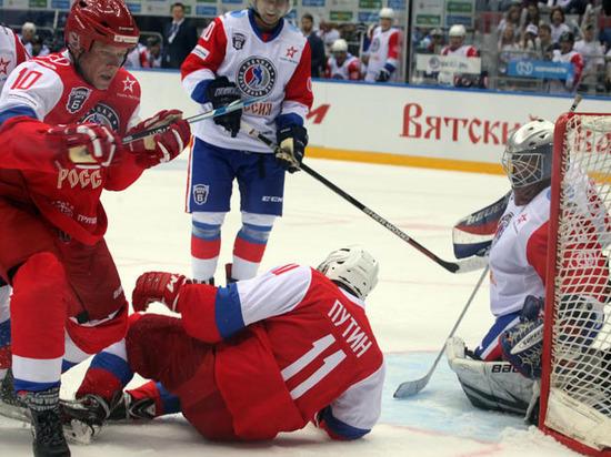 В матче НХЛ с Путиным сыграл загадочный генерал