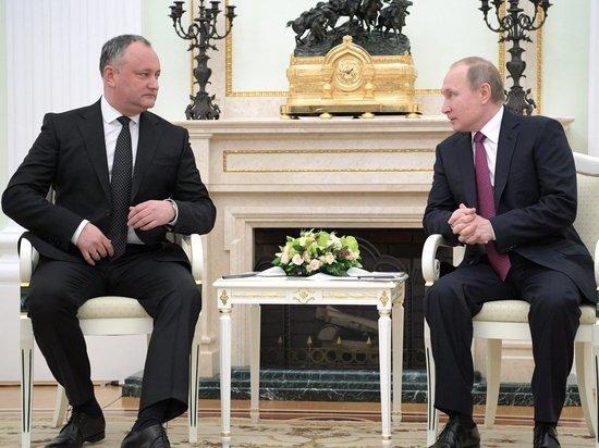 Зачем приезжал Додон: сближению Молдовы с Россией мешает геополитика