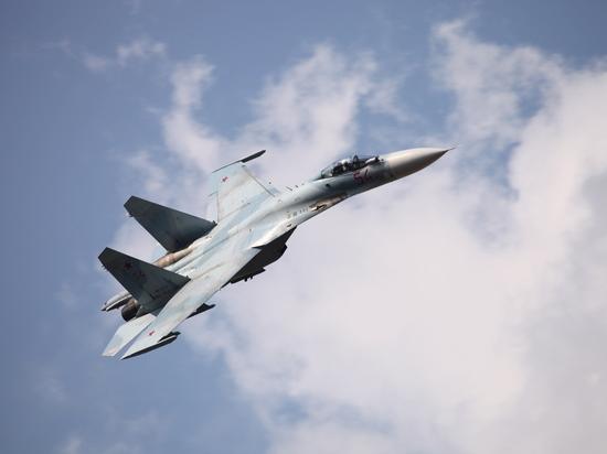 Российский истребитель приблизился к патрульному самолету США над Черным морем
