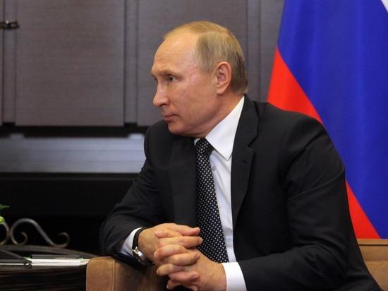 Путин считает, что погружать прибавки в заработную плату нецелесообразно