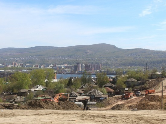 В районе реконструкции улицы Волочаевская в Красноярске нашли нарушителей