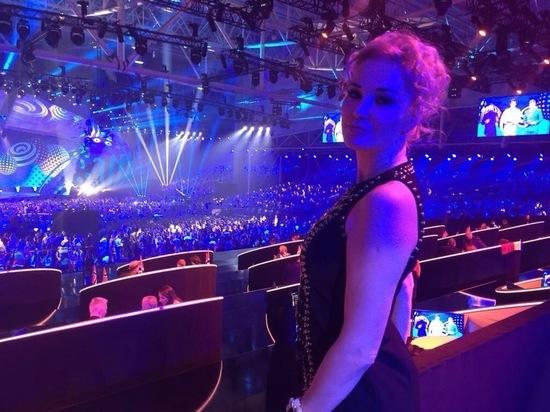 Мария Максакова вышла в свет на «Евровидение 2017»: «Жизнь продолжается!»
