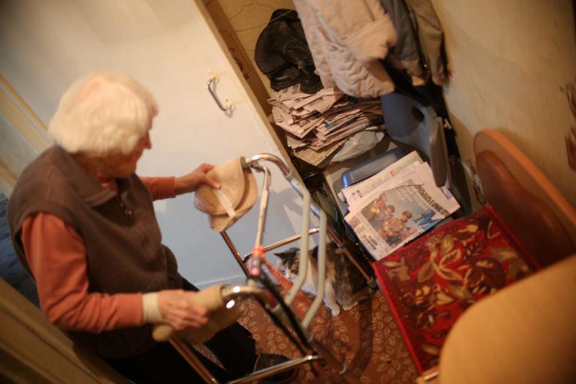 91-летняя москвичка ждет письмо от Путина