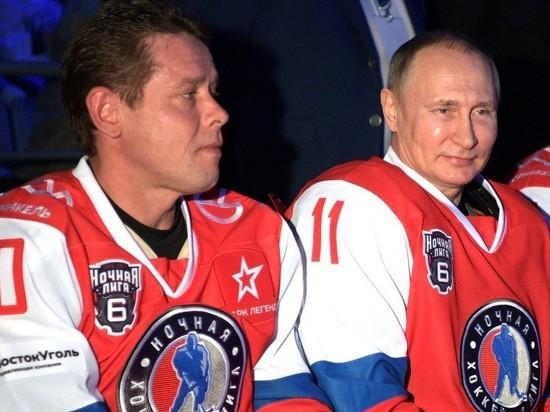 Павел Буре – про хоккей с Путиным: «Заранее договорились, как играть»