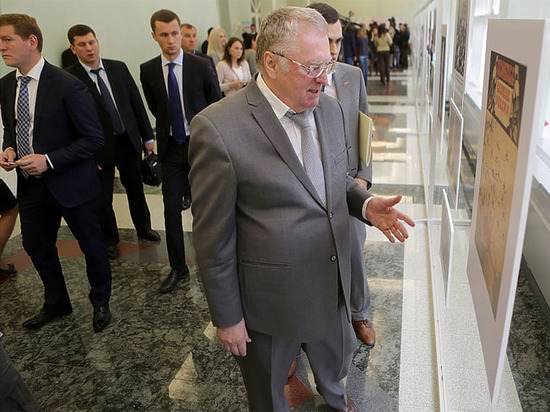 Жириновский пообещал спуститься в донецкую шахту сразу после войны
