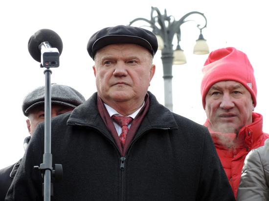 Зюганов обвинил Путина в нечестных выборах