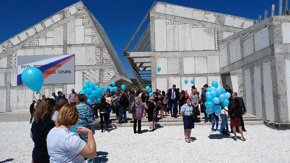 В Крыму почтили память жертв сталинской депортации 1944 года