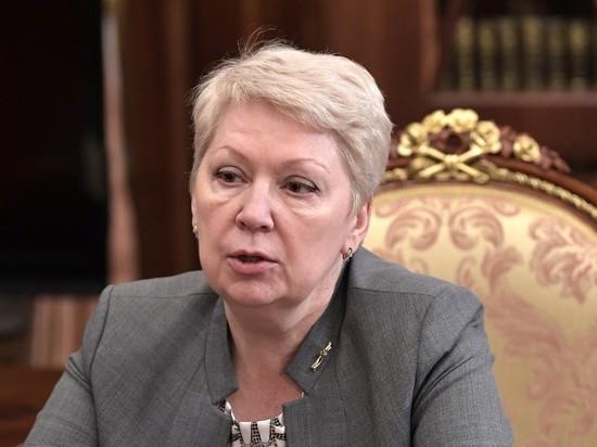 История для онкобольных: министр Васильева вернулась к учительскому ремеслу