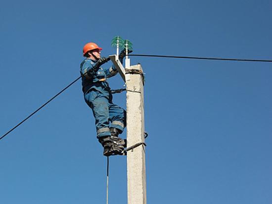 Компания «Алтайэнерго» начала масштабную реконструкцию ЛЭП западной зоны края