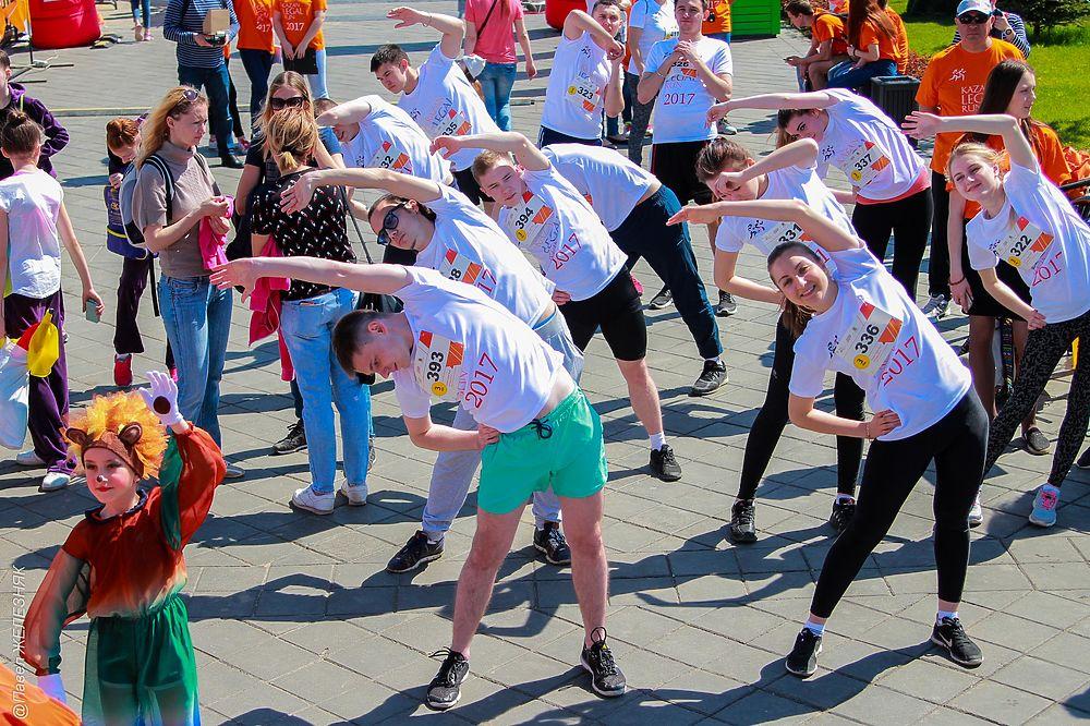 Благотворительный забег «Legal Run» прошел в Казани 20 мая