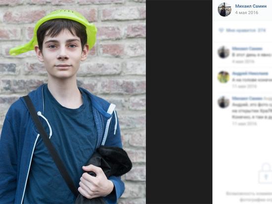 «Макаронного» десятиклассника пригрозили отчислить из школы за митинг Навального