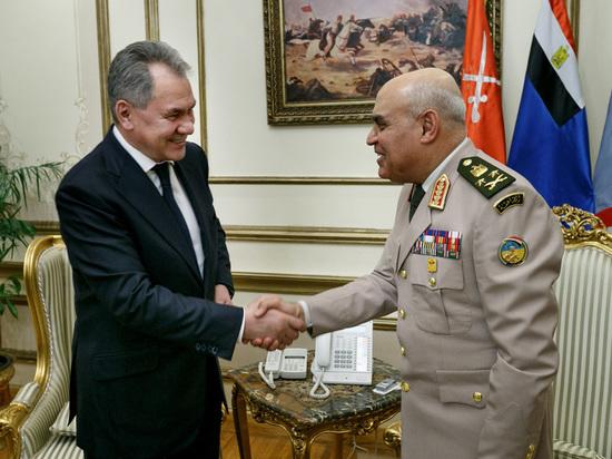 Шойгу: Москва предложила Каиру «самые интересные проекты»