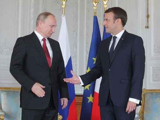 Макрон встретил Путина по-королевски: Версаль закрыли для посетителей