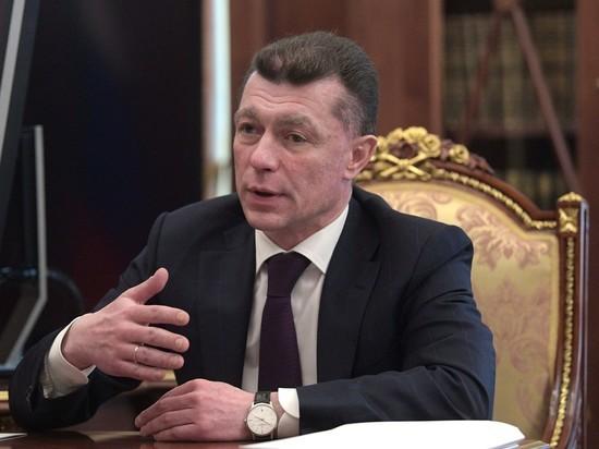 Министр труда Топилин обнаружил пропажу элитных часов только спустя неделю