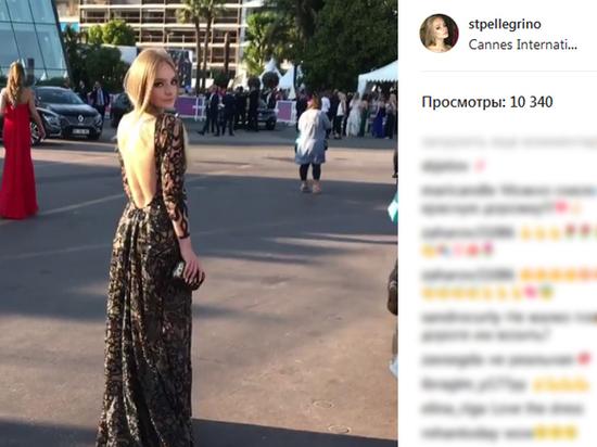 Дочь Дмитрия Пескова эффектно показалась вКанне