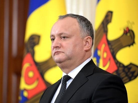 Молдавия: Додон дает «задний ход», но Москве не страшно