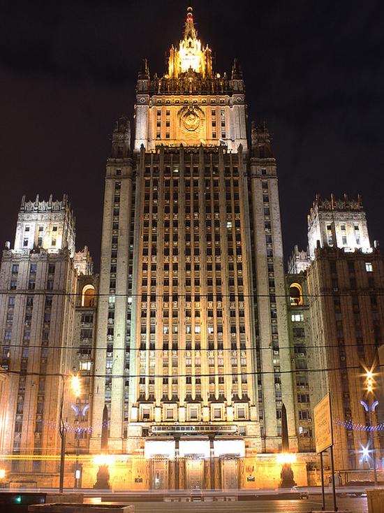 МИД: Москва возмущена шельмованием российского посла в США