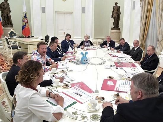 Путин пригрозил снять мультфильм про Минфин