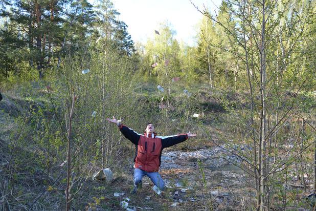 Туристы нашли в ракетной шахте миллиард рублей