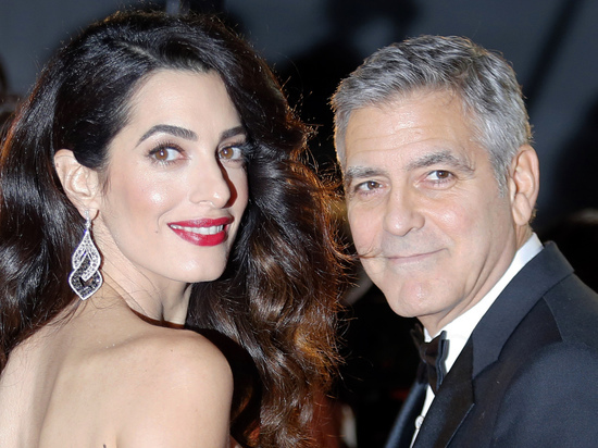 УДжорджа Клуни родились близнецы