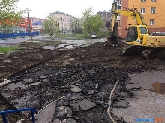 Новые дороги и отремонтированные дворы ждут в областном центре